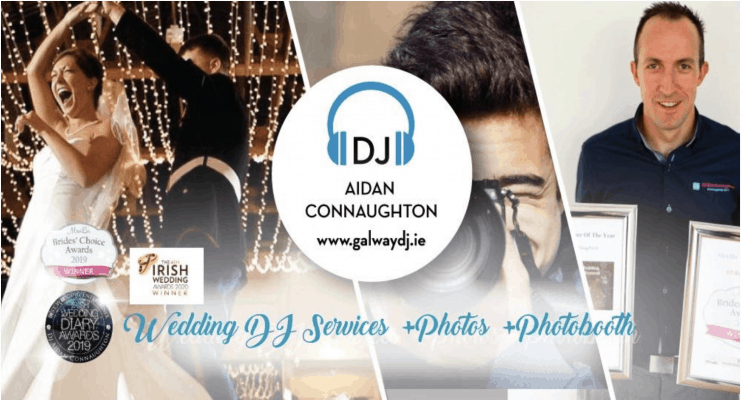 galway wedding dj aidan connaughton